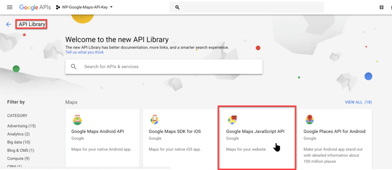 How to get a Google Map API key? - Realtyna Help Center
